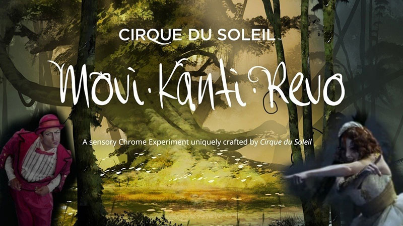Cirque du Soleil and Google